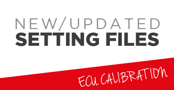 New/Updated setting files - PSA GROUP 2.0L DCM6.2A/C
