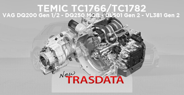 TEMIC DQ200, DQ250, DL501 & VL38: Remap and repair DSG & CVT gearboxes in BENCH MODE with New Trasdata
